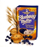 Blueberry Muffin Cream of Wheat, paper sculpture. © Denise Ortakales