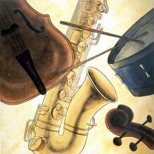 Jazz Instruments © Denise Ortakales