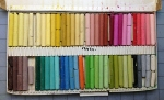 oil pastels pallettea